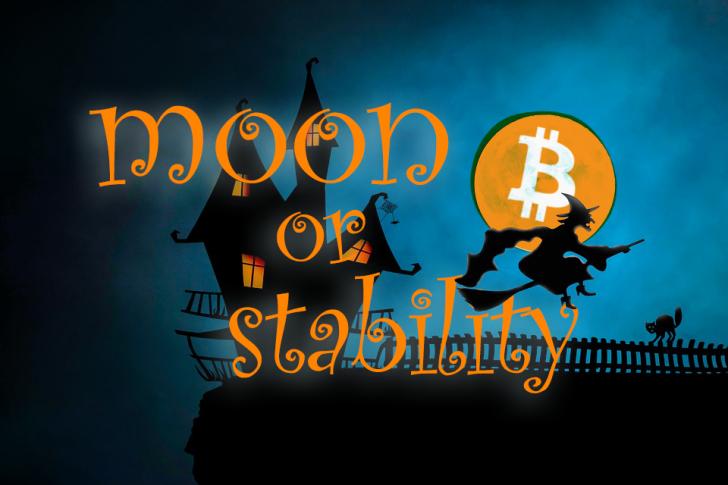 bitcoin ビットコイン の記録的な低ボラティリティは 価格安定かmoon