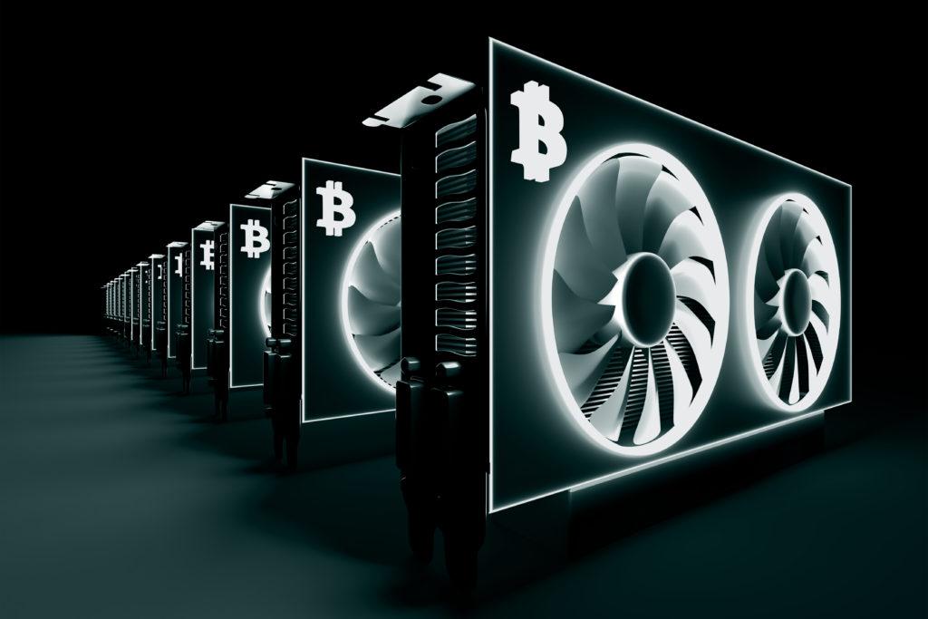 暗号通貨のマイニング機器販売